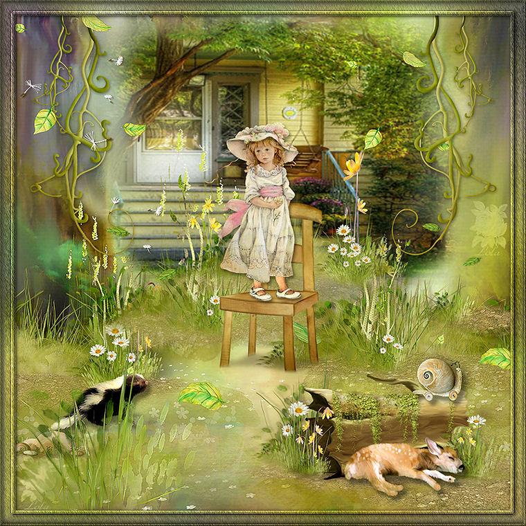 Mis trabajos el jardin magico for El jardin magico