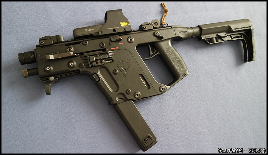KSC KRISS VECTOR GBBR - GBB-Technics fr | Forum