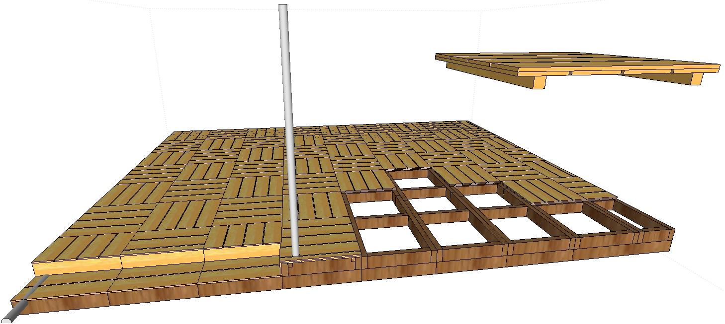 Terrasse En Palette Duree De Vie forum association les copeaux :: projet réalisation d'une