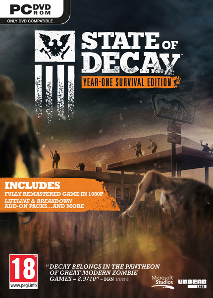 Poster for State of Decay: Year One Survival Edition