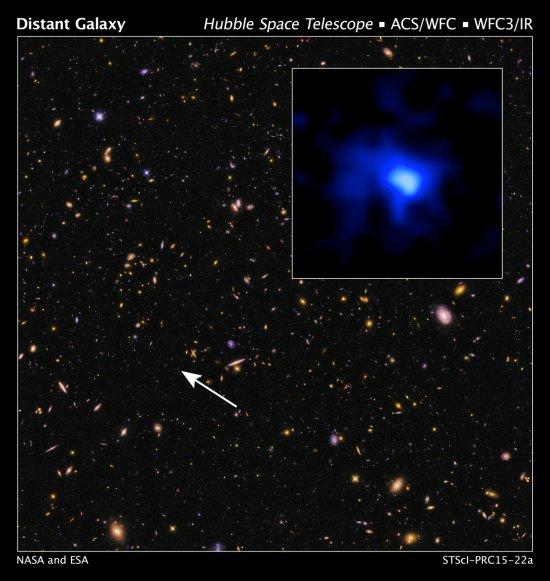 galaxie la plus lointaine