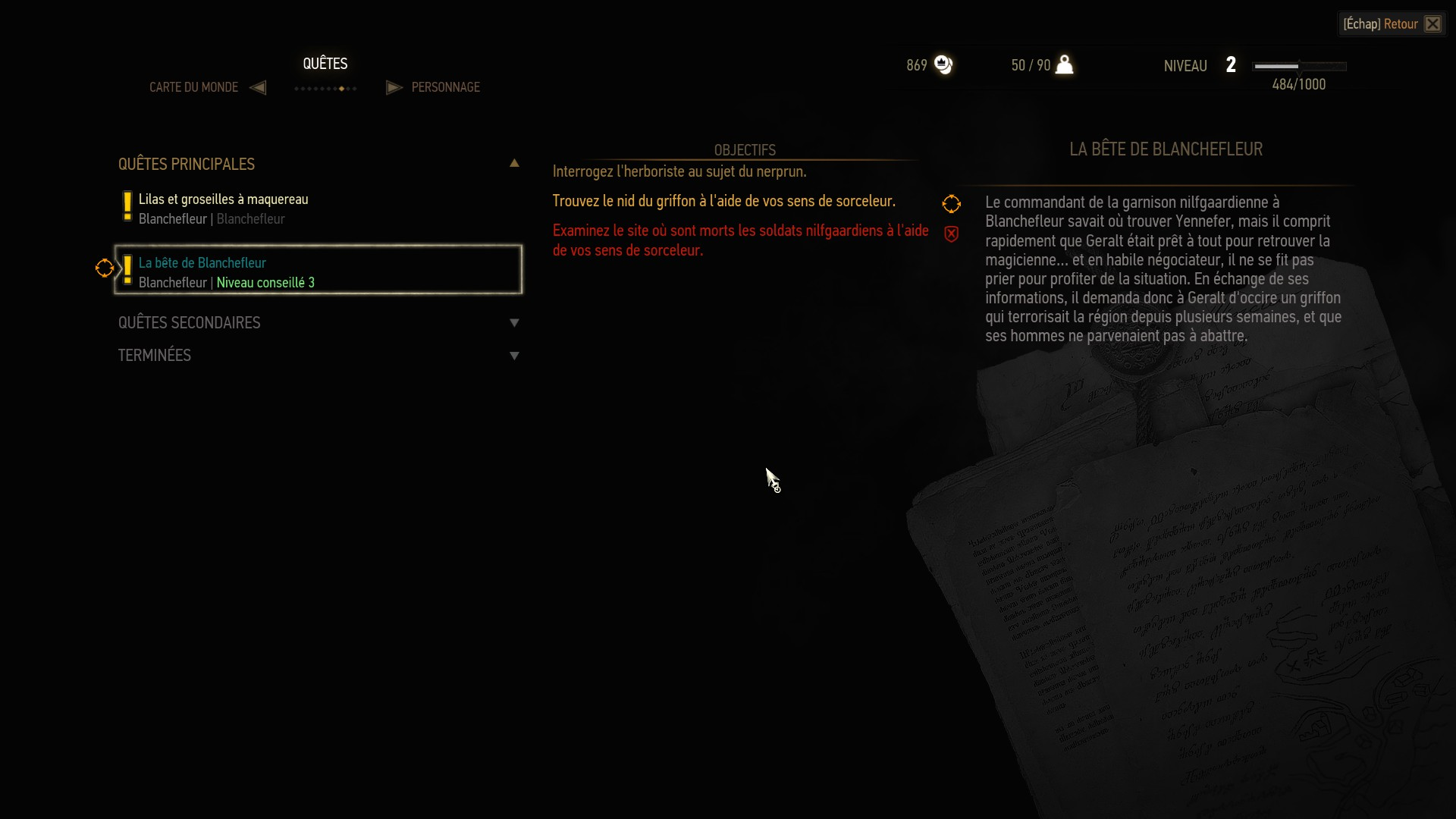 PC) [Bug Main Quest] Beast of White Orchard   Forums - CD