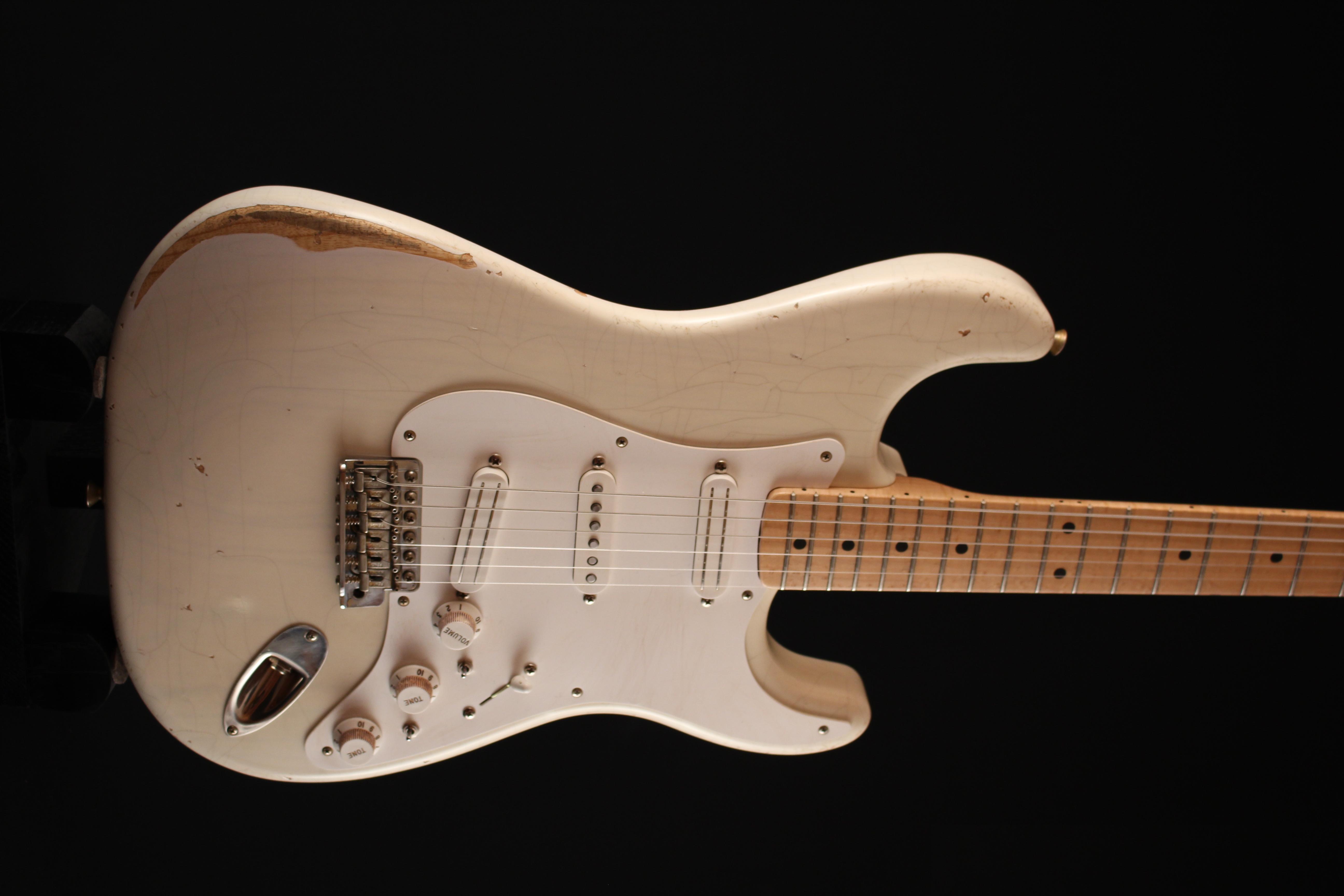 """Fender Stratocaster CS 56 """"NOS"""" Blonde - de 2000 150521033311669592"""