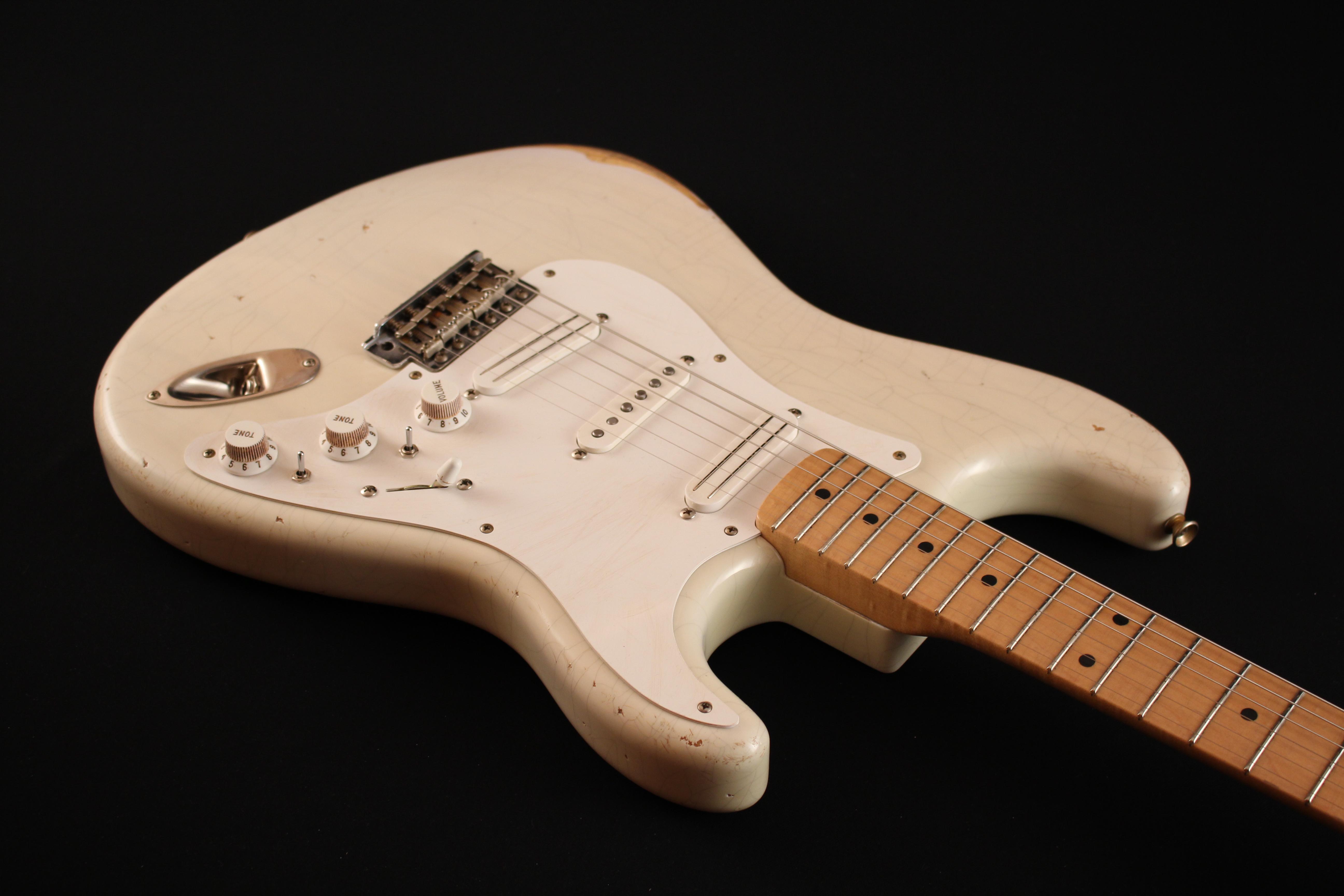 """Fender Stratocaster CS 56 """"NOS"""" Blonde - de 2000 150521033314376647"""