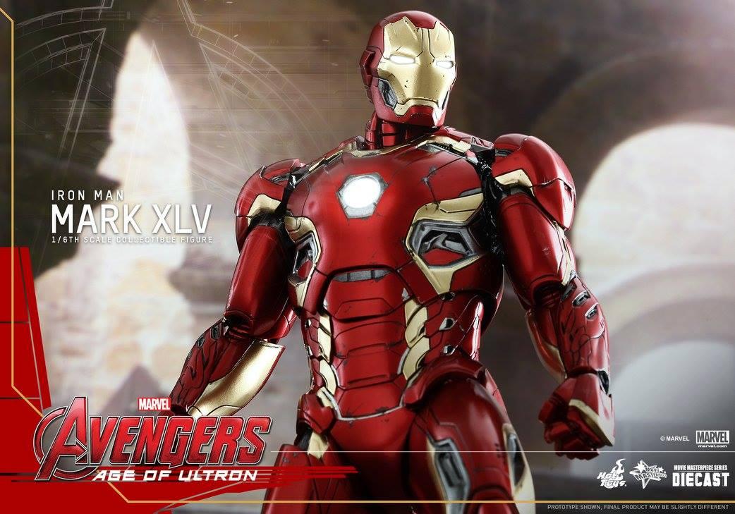 AVENGERS 2 : AGE OF ULTRON - IRON MAN MARK XLV (MMS300DC11) 150522012912287833