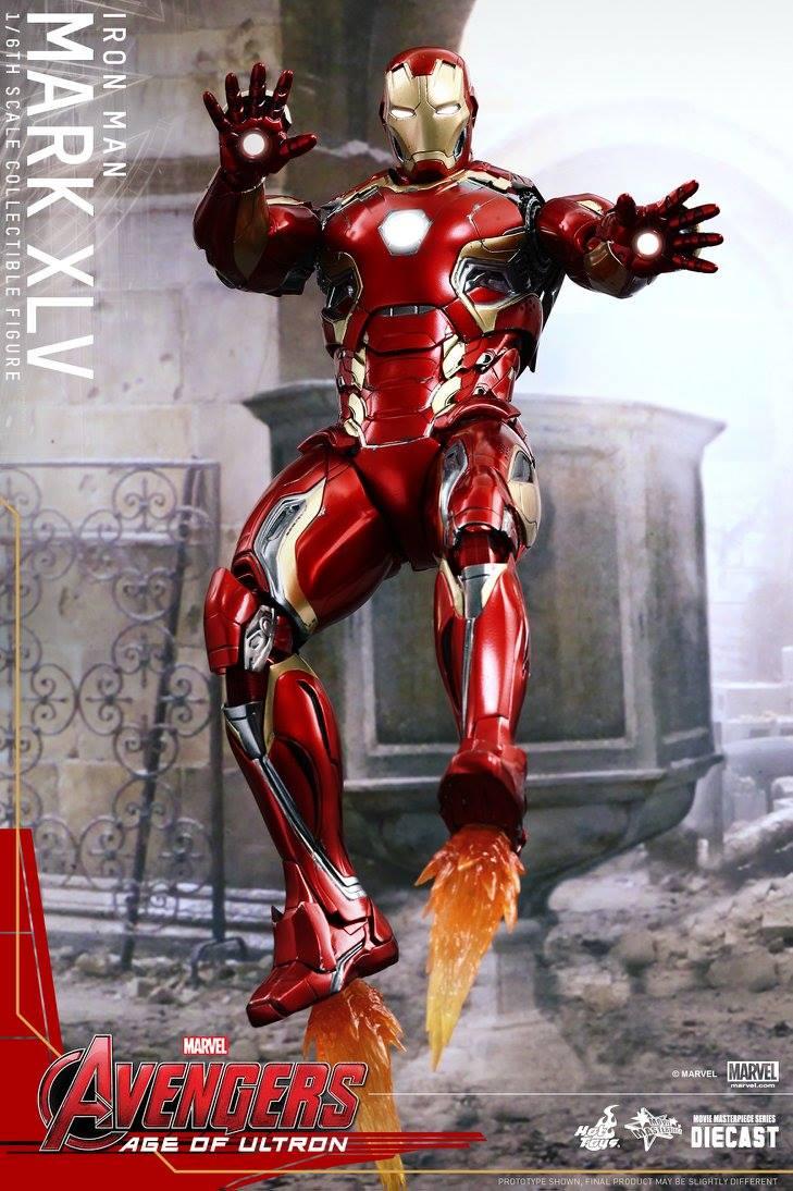 AVENGERS 2 : AGE OF ULTRON - IRON MAN MARK XLV (MMS300DC11) 150522012923869545