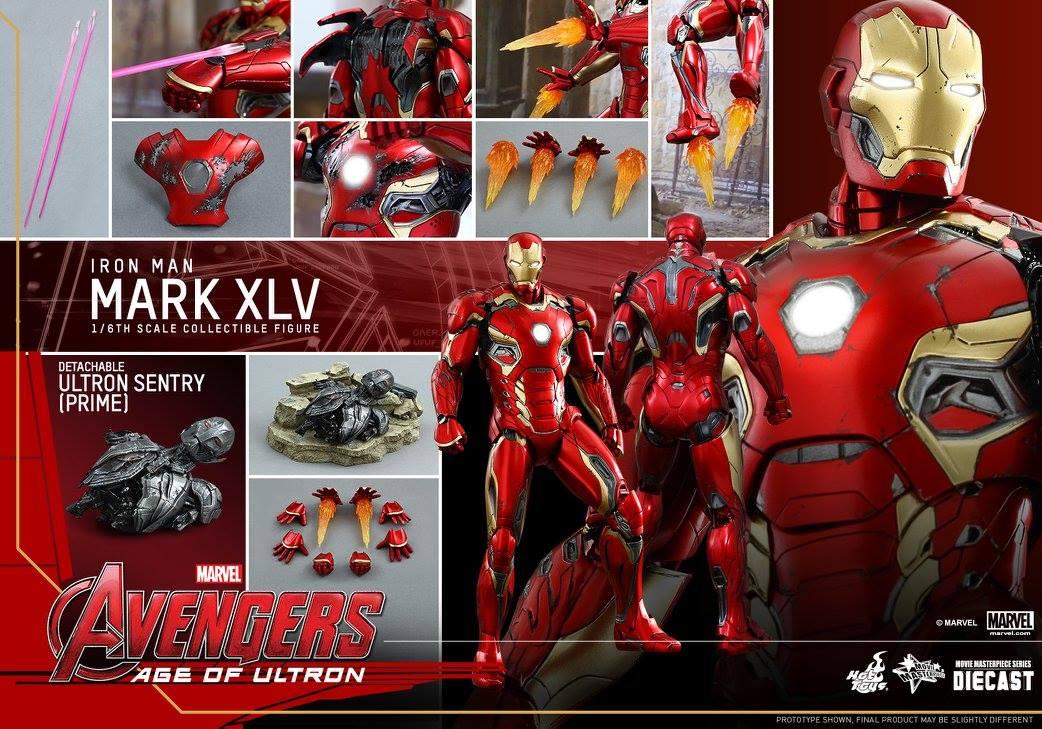 AVENGERS 2 : AGE OF ULTRON - IRON MAN MARK XLV (MMS300DC11) 150522012936787127