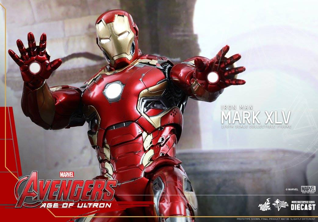 AVENGERS 2 : AGE OF ULTRON - IRON MAN MARK XLV (MMS300DC11) 150522012940246721