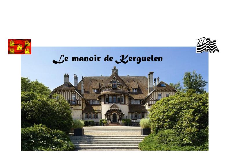 Soyez les bienvenus au manoir de Kerguelen, chez Maeline et Mathias