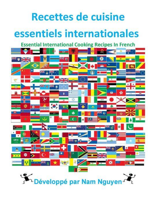 Recettes de cuisine essentiels internationales [EPUB/PDF]