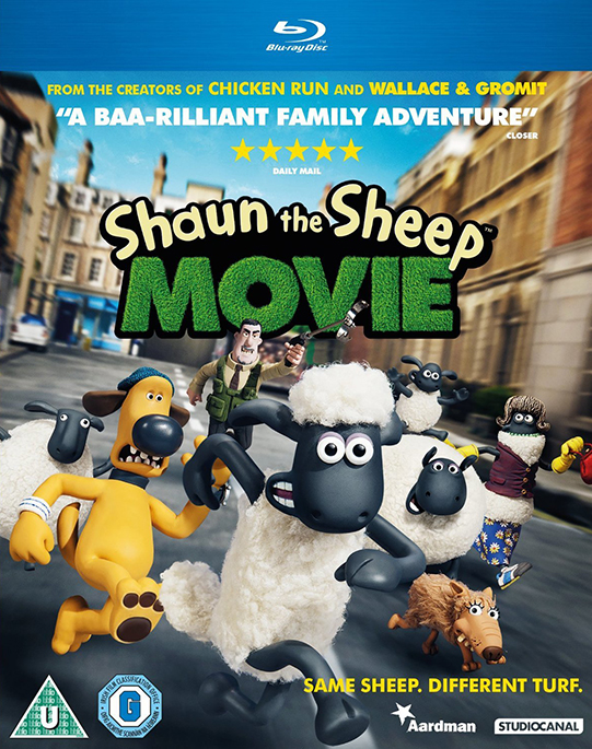 Shaun the Sheep Movie poster image