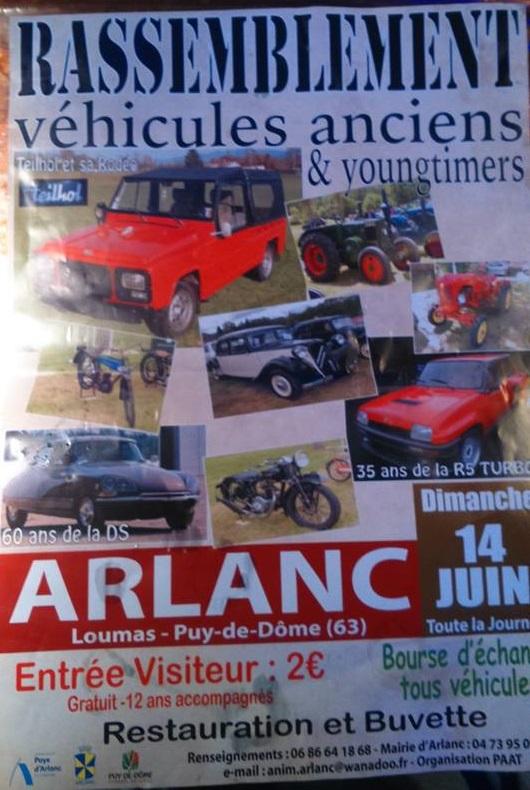 Rassemblement Véhicules Anciens & Youngtimer - Arlanc (63) 15053110143834143