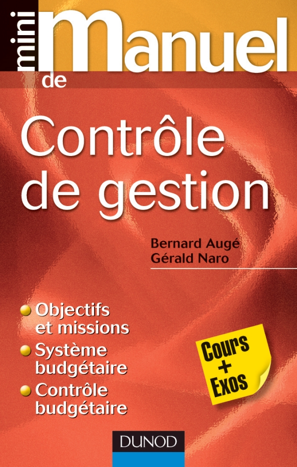 Mini manuel de contrôle de gestion : Cours + Exos