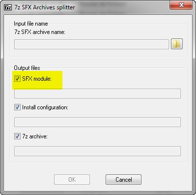 Sfx архивы как сделать