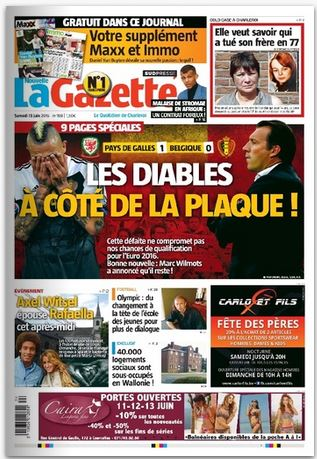 La nouvelle gazette du 13-06-2015 Belgique