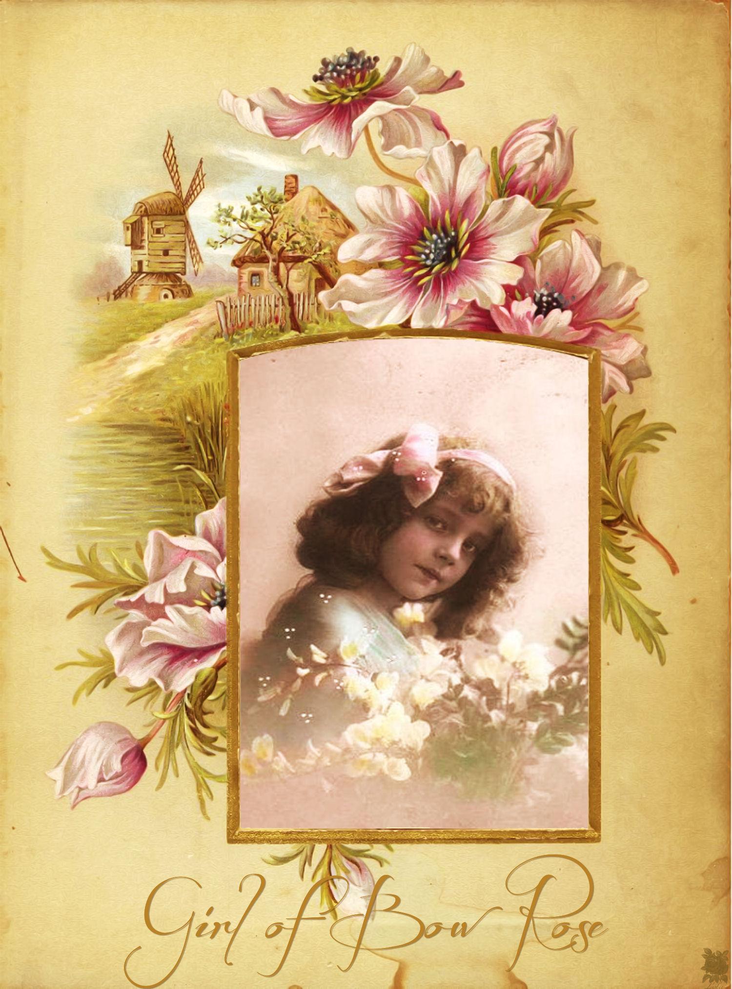 Girl of Bow Rose