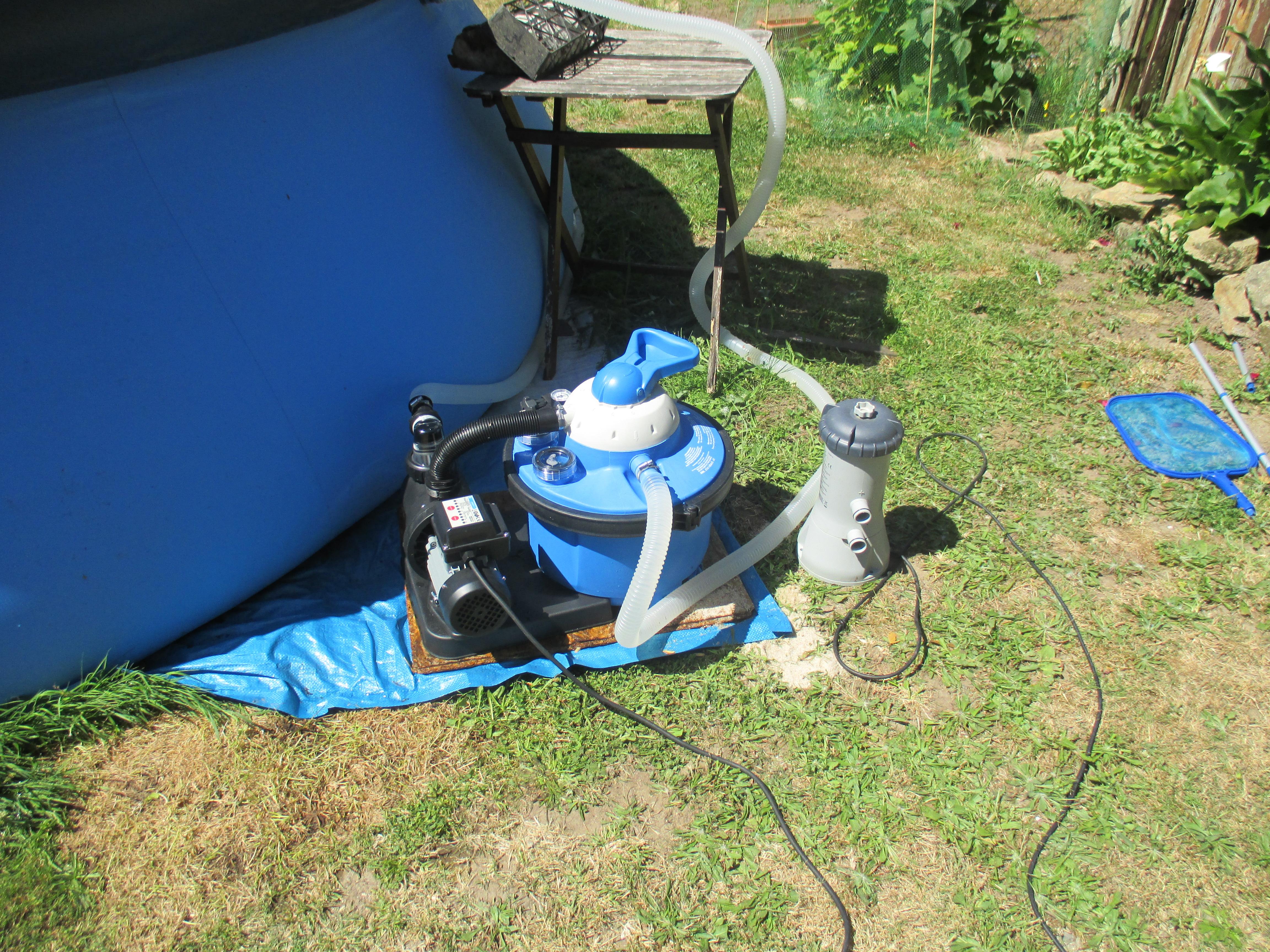 Pompe filtrante pour piscine speed clean 40200 comfort 50 for Minuterie pompe piscine