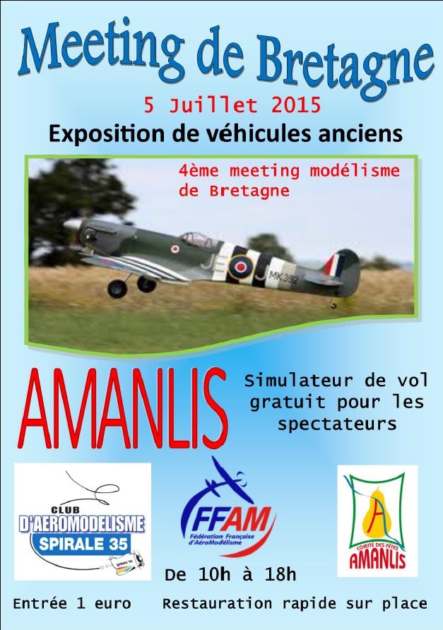 Meeting Aéromodélisme Amanlis  le 05 juillet 2015 15070104452027542