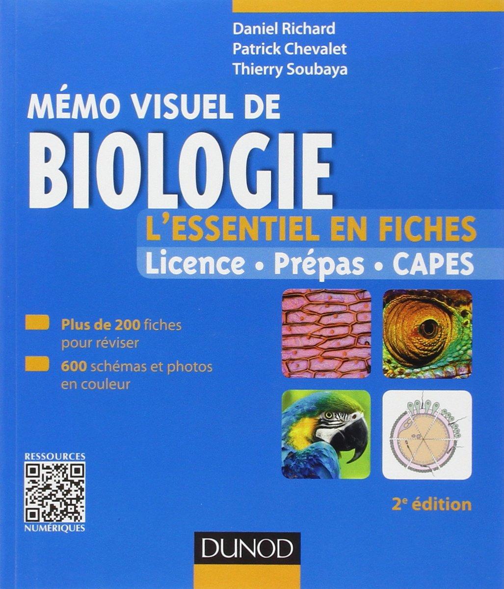 Mémo visuel de biologie : L essentiel en fiches