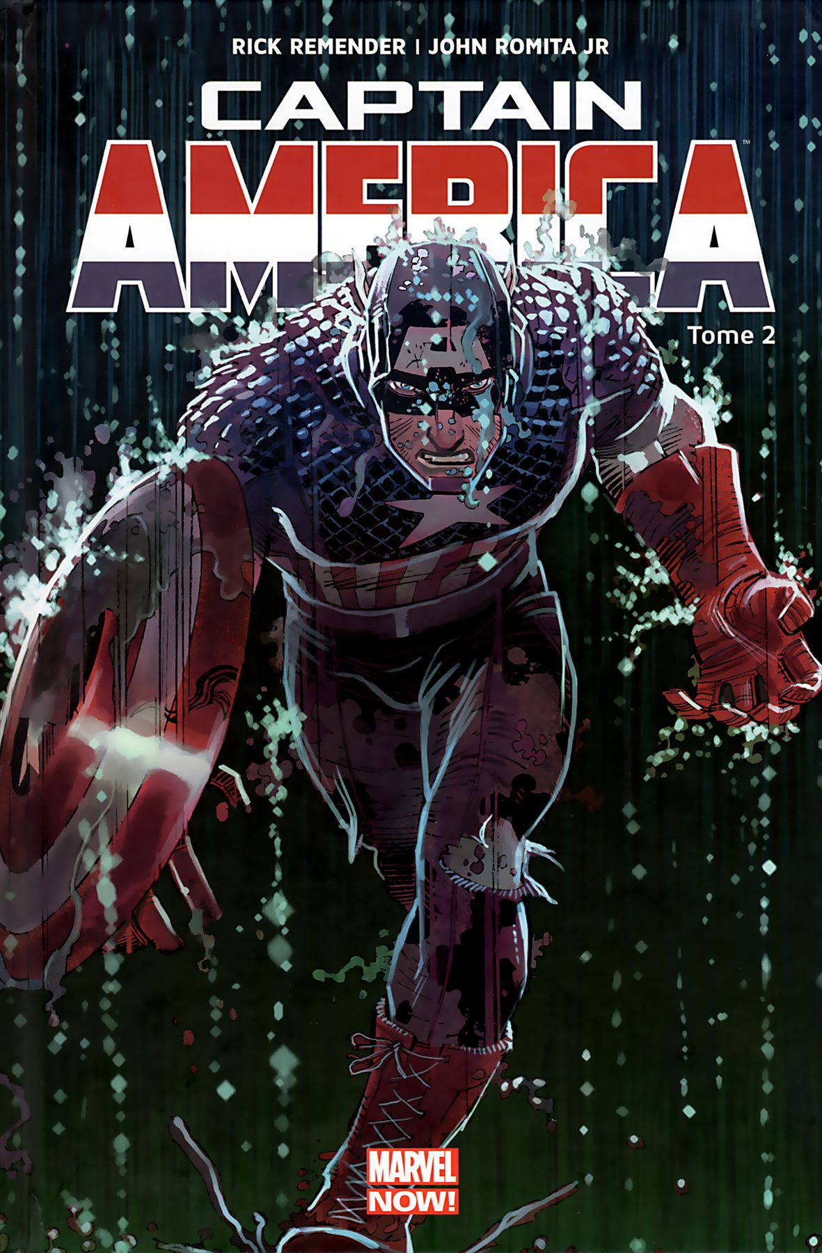Captain America Tome 02 Marvel Now Panini Comics French