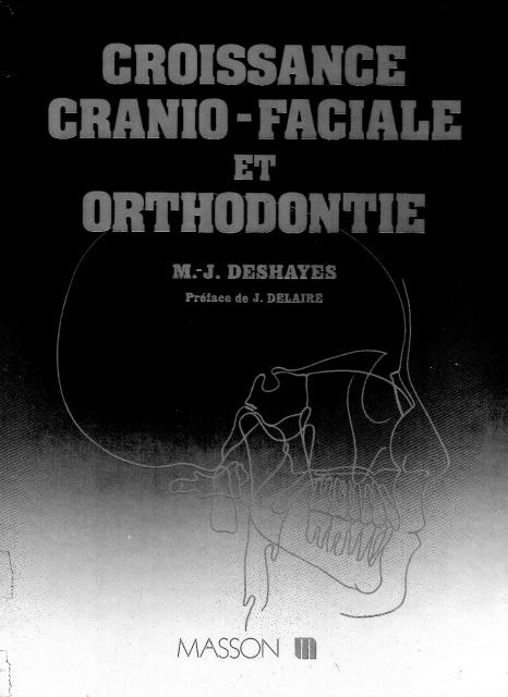 télécharger croissance cranio-faciale orthodontie