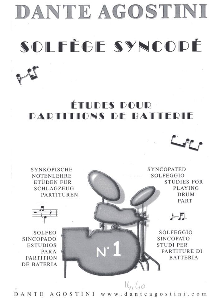 Dante Agostini - Solfège Sincopé