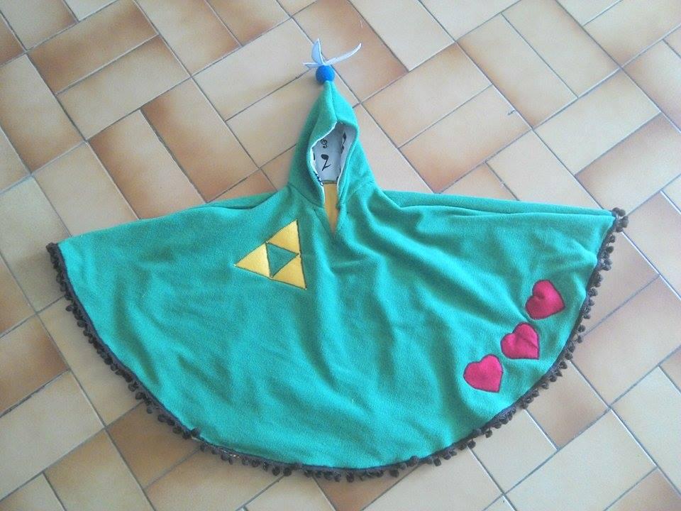 Poncho 1 an thème zelda : link 150718054704105926