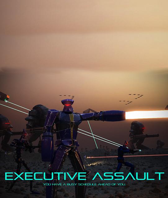 Poster for Executive Assault