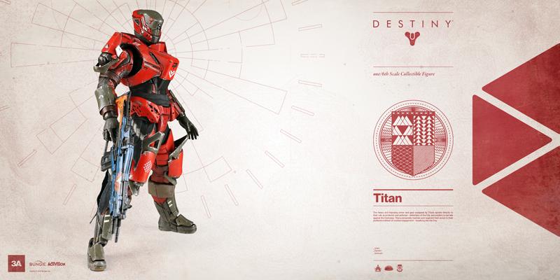Figurines officielles Destiny : Titan (1/6) par 3A 150723014633670366