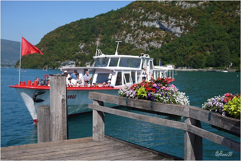 Annecy - Le lac du coté de Talloires  15072701050334892
