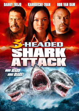 3 Headed Shark Attack poster image