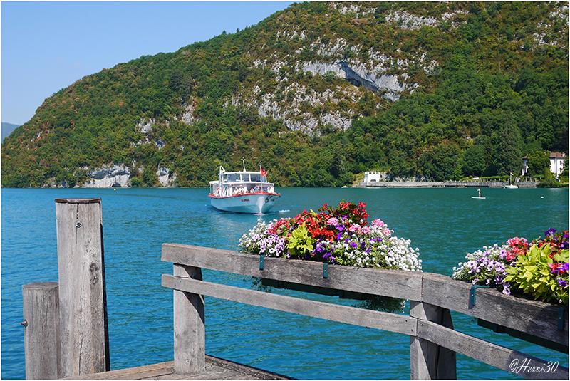 Annecy - Le lac du coté de Talloires  150727111941263570