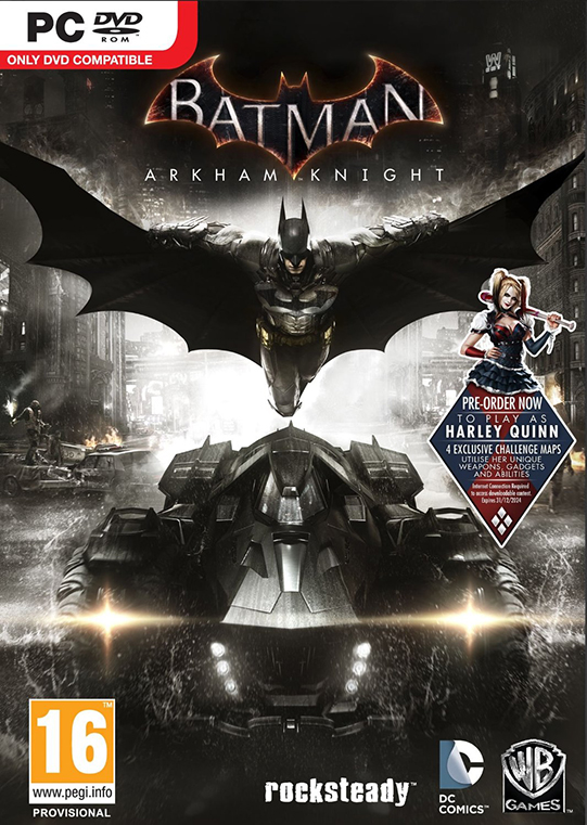 Poster for Batman: Arkham Knight