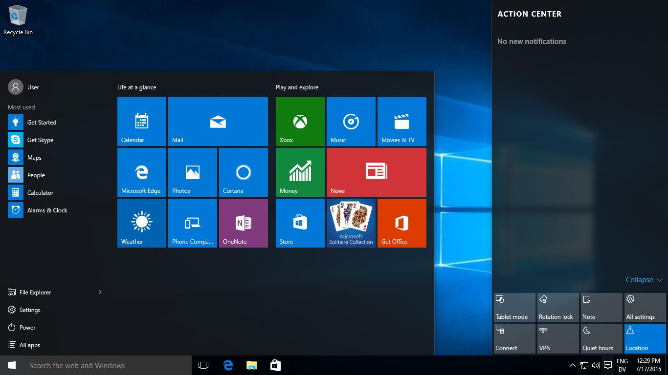 Windows 10 - Home & Pro image