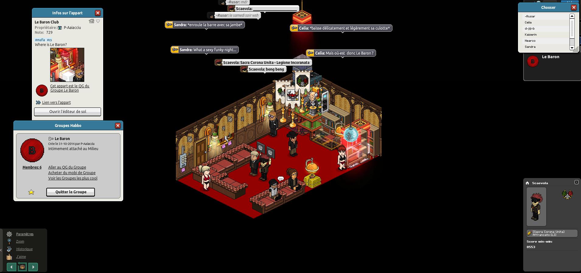 [Scaevola] Le Baron Club [Crime Syndicate] [31-07-15] 150731093245197242