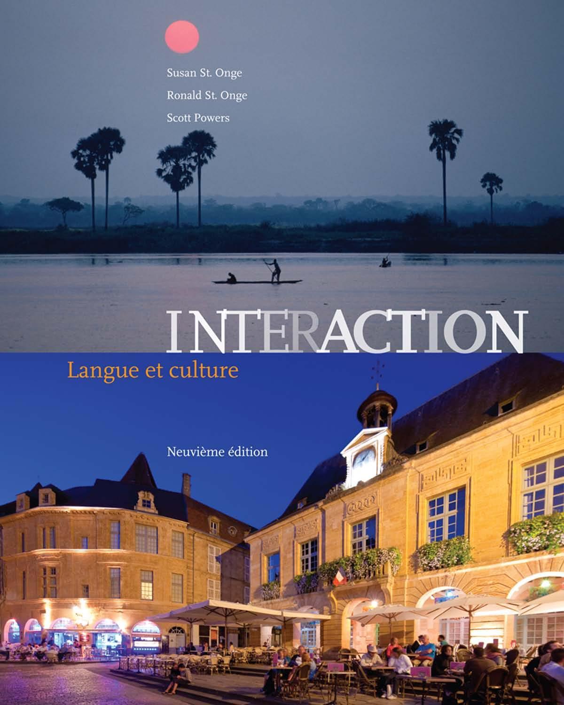 télécharger Interaction : Langue et Culture