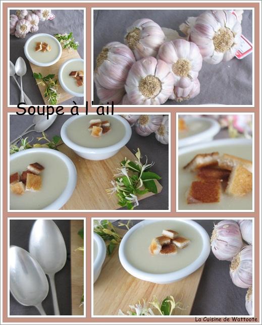 soupe ail