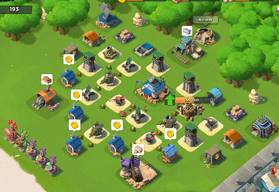 Quartier Général (type) Niveau 11 150811054538736434