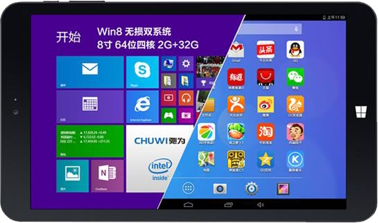 Chuwi Vi8 Hi8 Vi10 Hi10 Hi12 Windows Android Tu Tablette