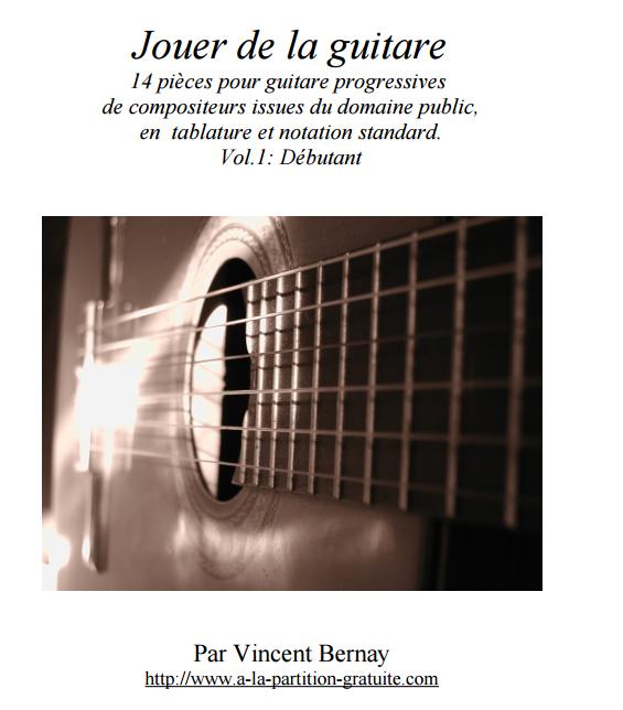 Méthode Jouer de la guitare par Vincent Bernay