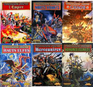 (Achat) Livres d'armées warhammer old school 150821070602879314