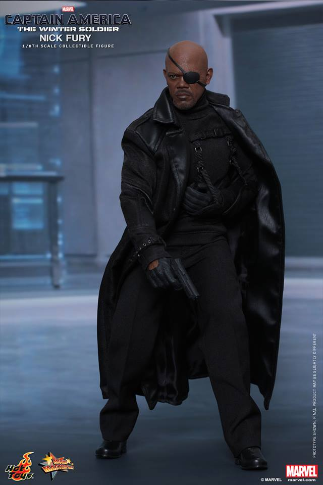 HOT TOYS - Captain America: The Winter Soldier - Nick Fury 15082607485555925