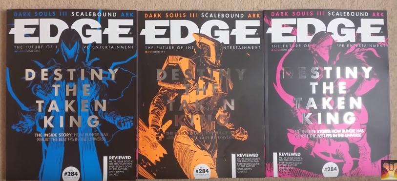 """Magazine jeux vidéo """"Edge"""" 150903080810300442"""