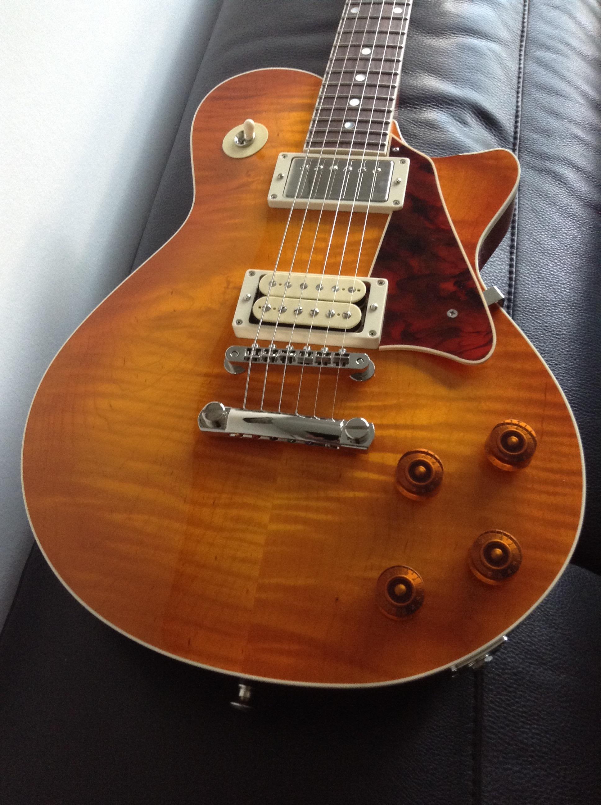 McInturff Carolina Custom - Ou comment avoir un esprit LP sans passer par Gibson 150904084420493802