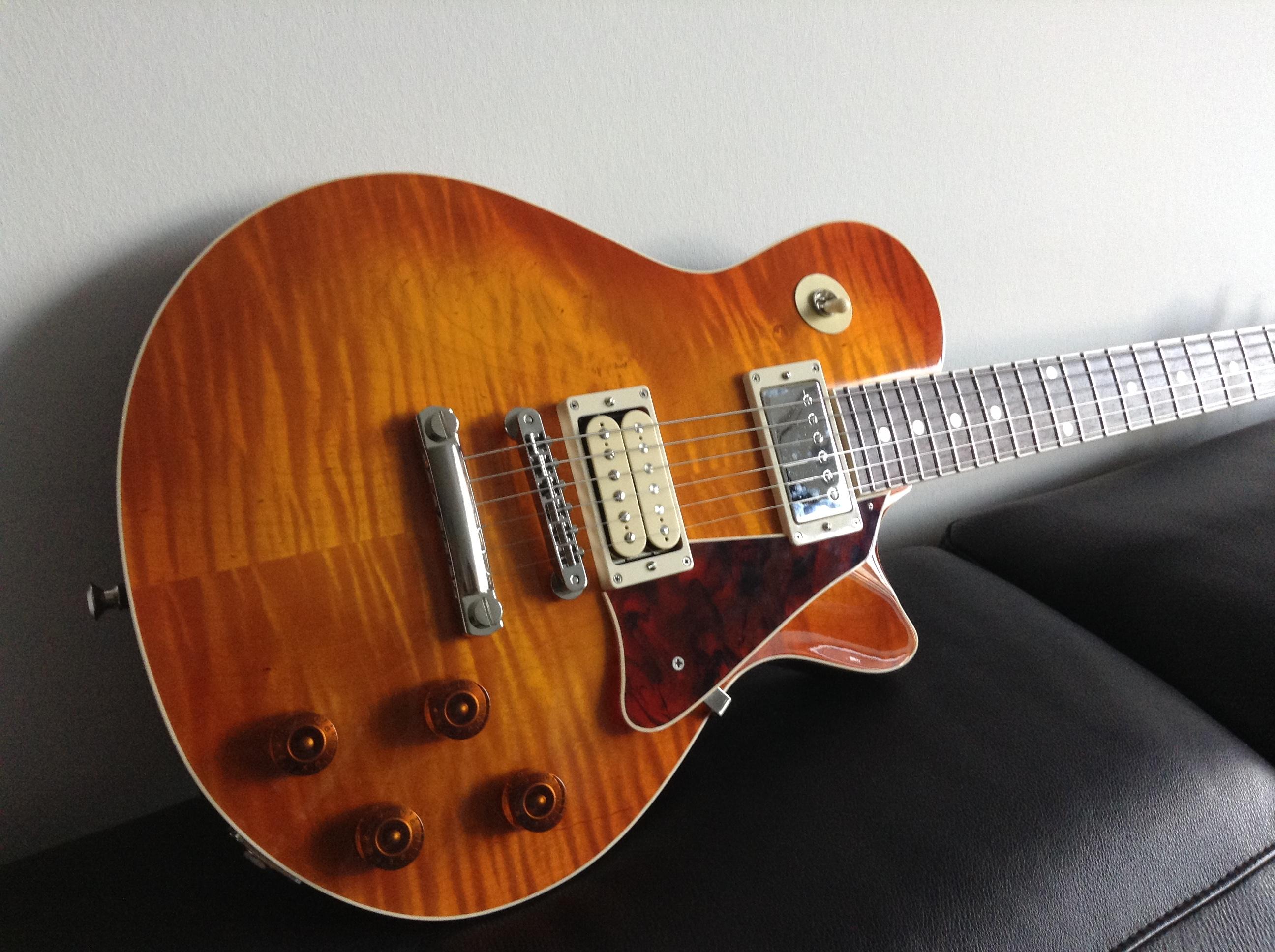 McInturff Carolina Custom - Ou comment avoir un esprit LP sans passer par Gibson 15090408442213709