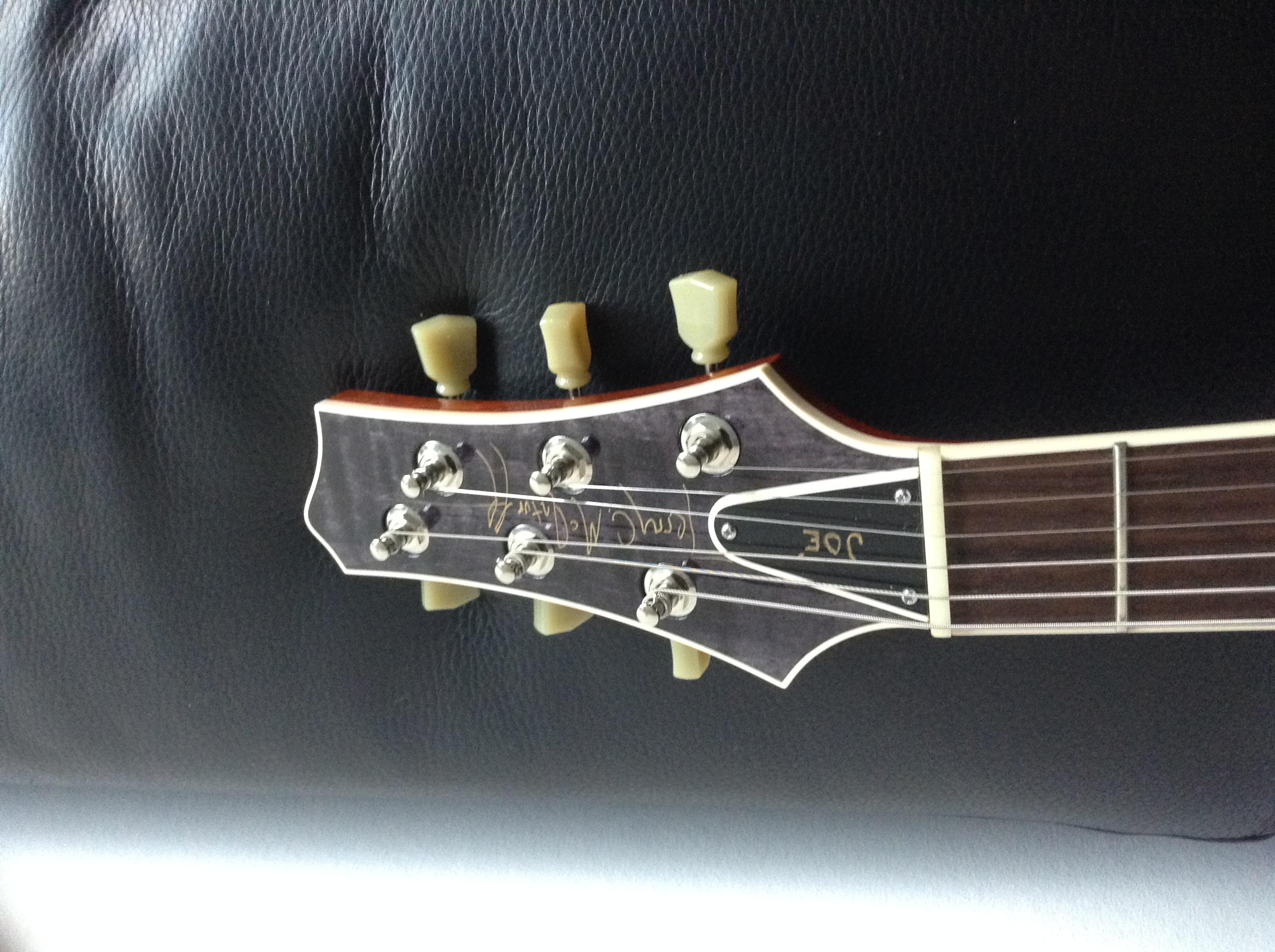 McInturff Carolina Custom - Ou comment avoir un esprit LP sans passer par Gibson 150904084423602939