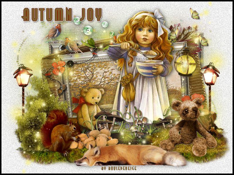 tuto autumn joy