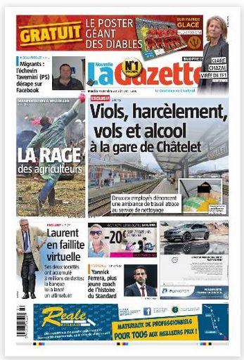 La nouvelle gazette du 08-09-2015 Belgique