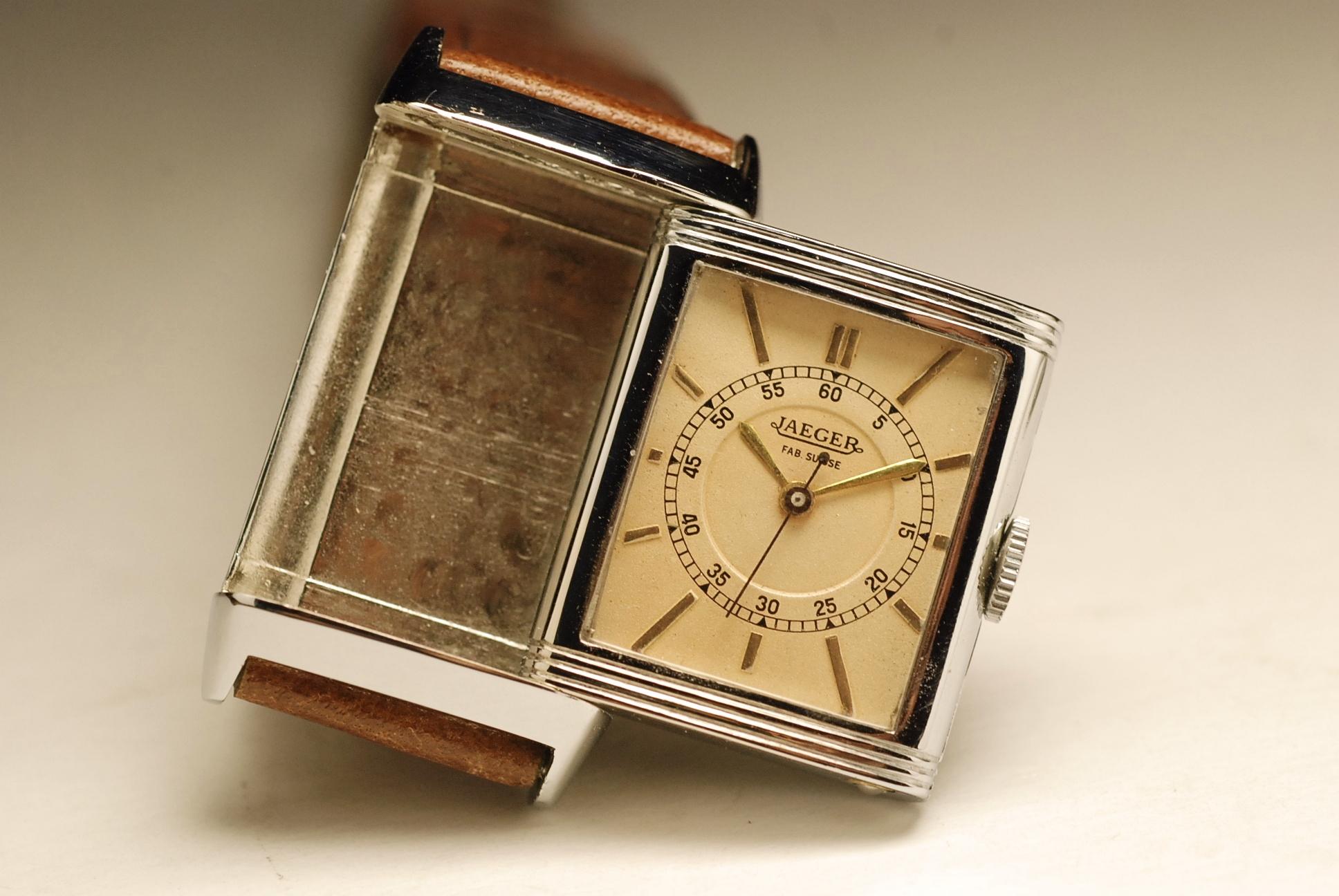 vintage jaeger lecoultre reverso uniplan watch montre. Black Bedroom Furniture Sets. Home Design Ideas