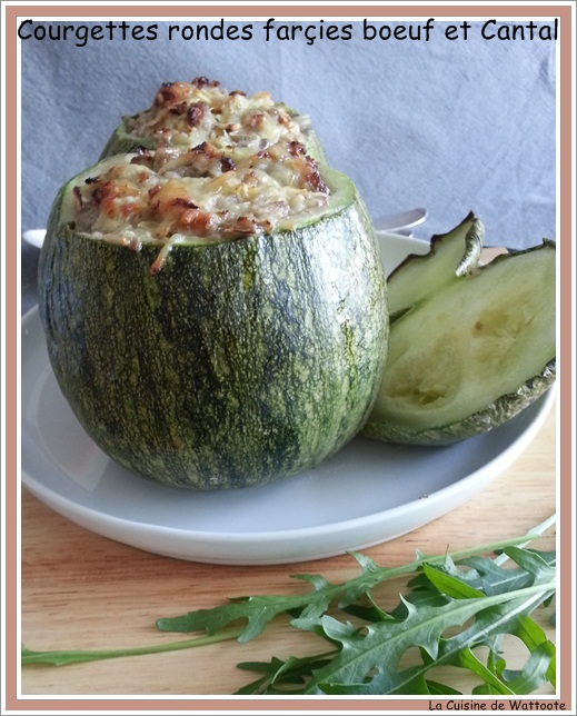 courgettes farçies boeuf cantal